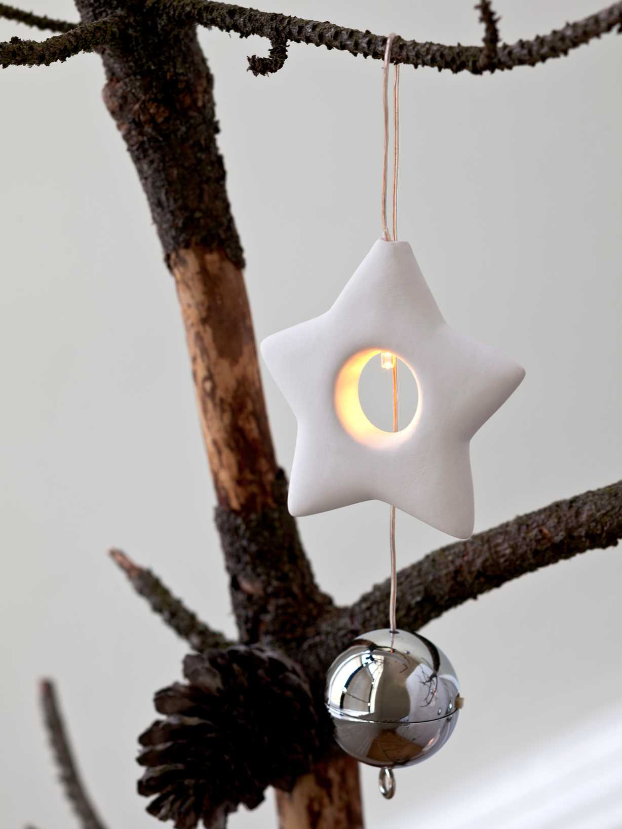 Nordic House LED Christmas Star Decoration