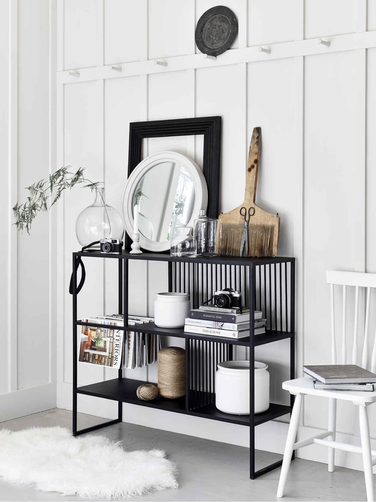 Nordic House Solna Shelf Unit