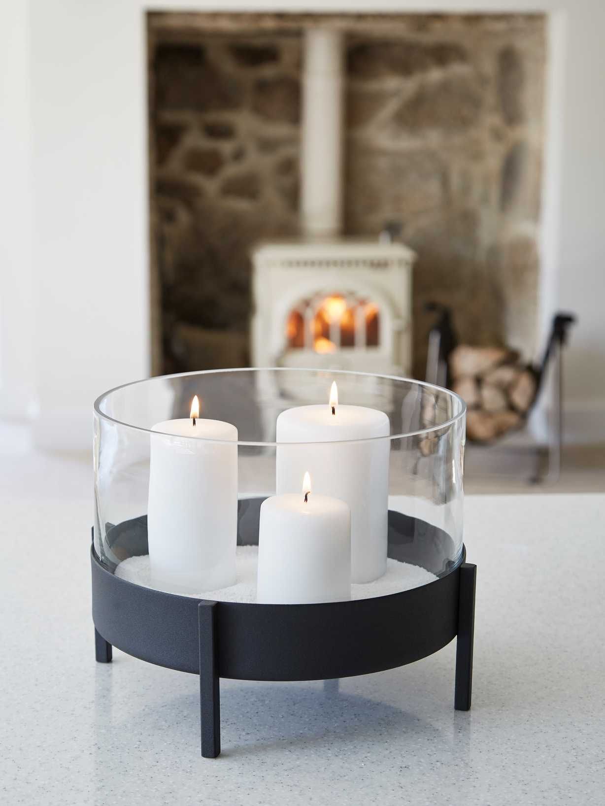 Nordic House Lagom Candle Centrepiece