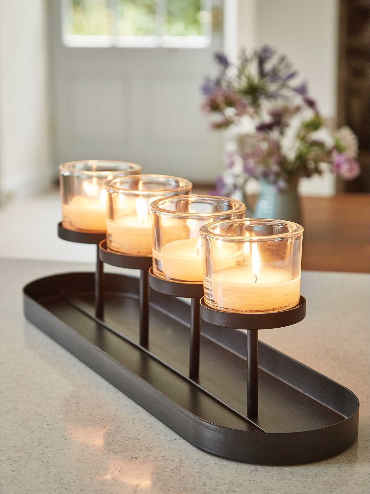 Nordic House Window Candle Holder