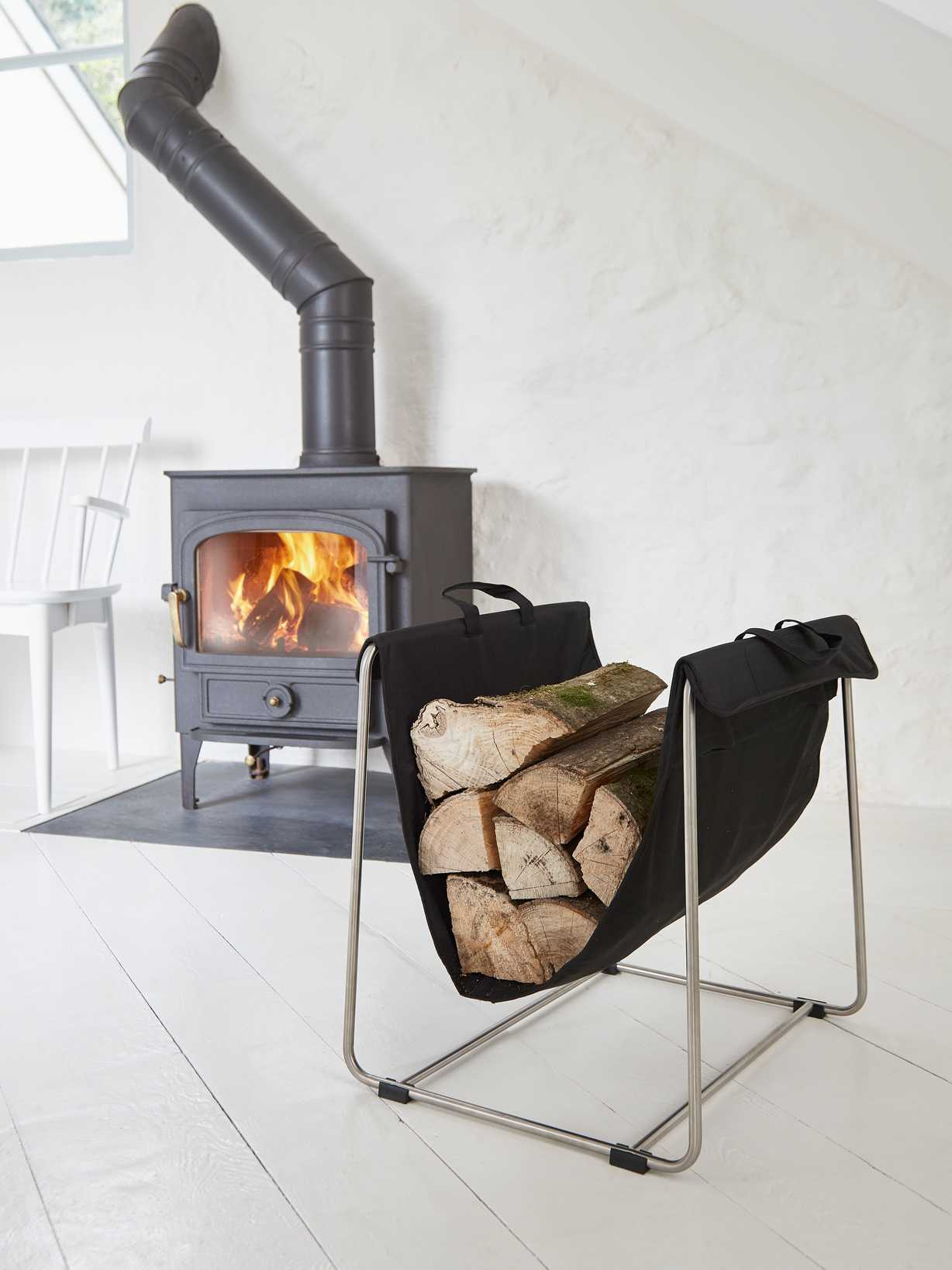 Nordic House Designer Log Holder