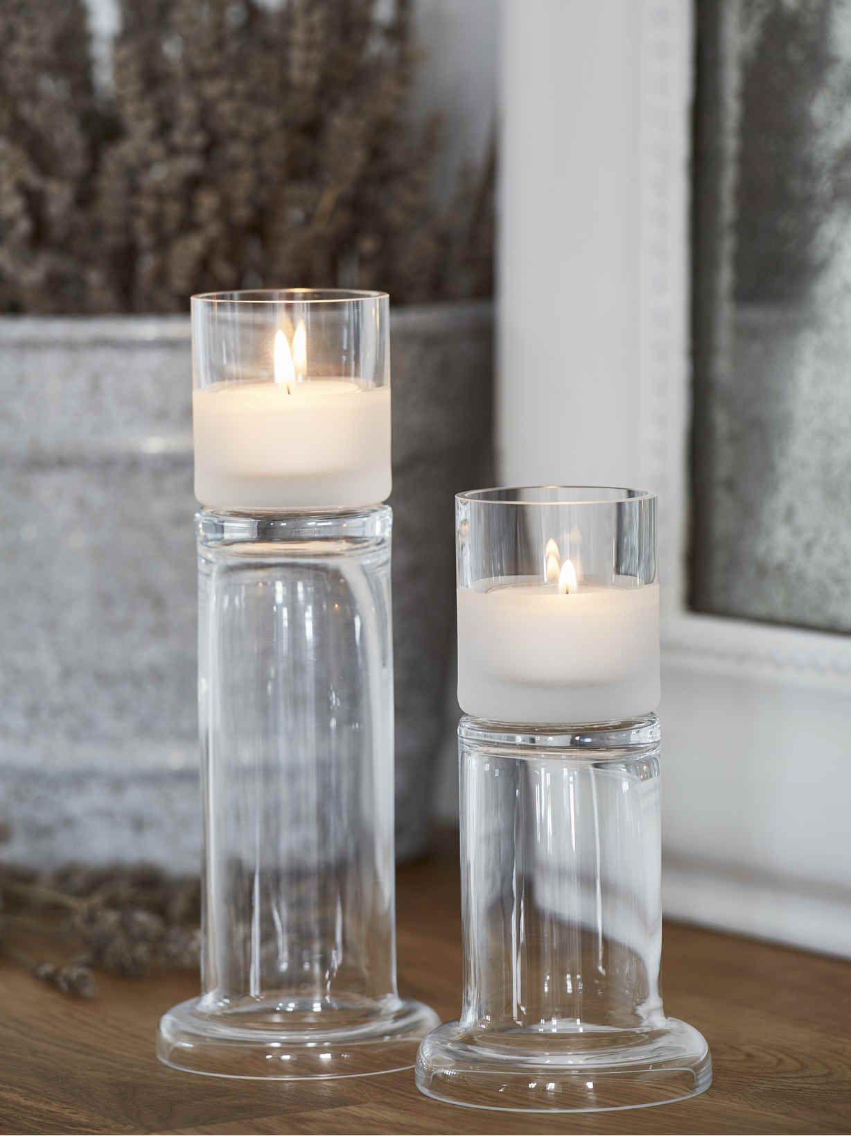 Nordic House Erin Tealight Holder Set