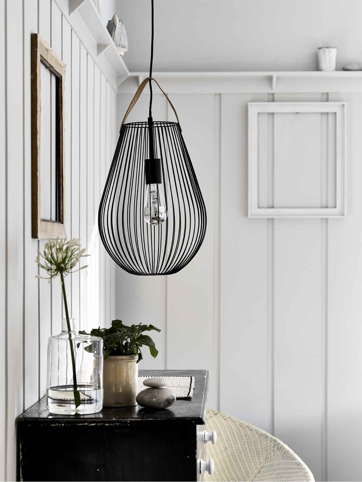Nordic House Cage Pendant Lamp
