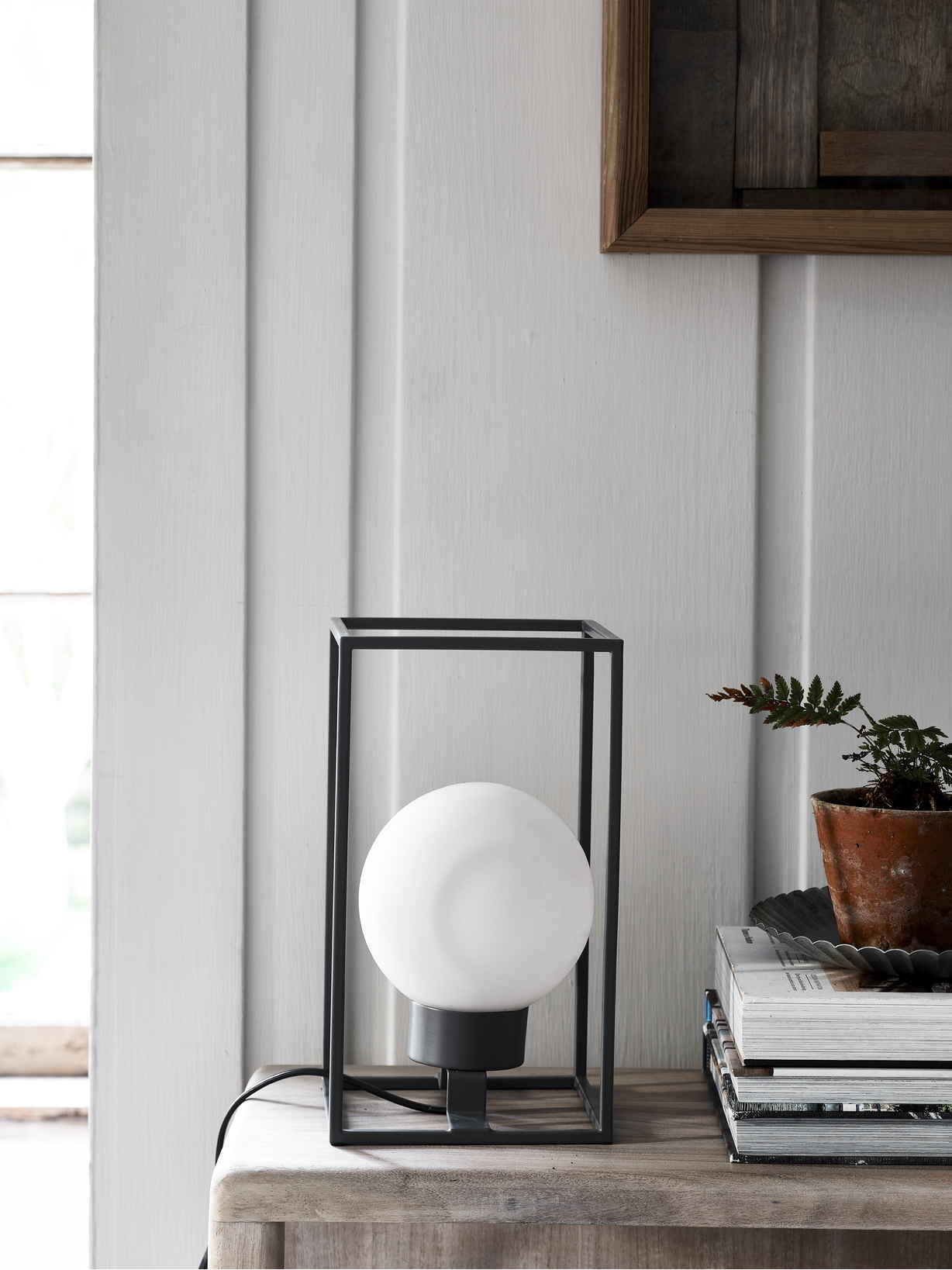 Nordic House Cube Table Lamp