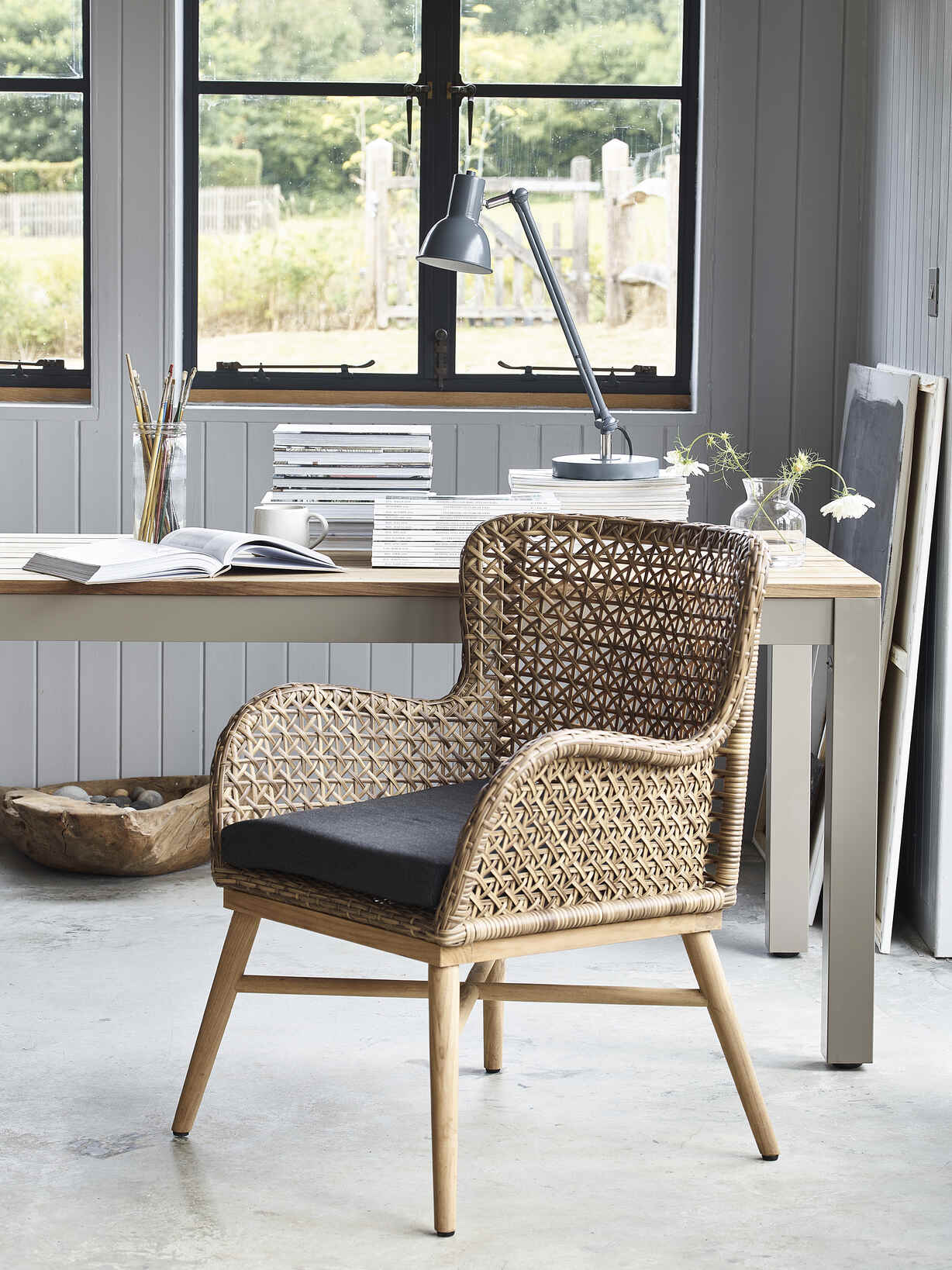 Nordic House Indoor/Outdoor Dining Chair