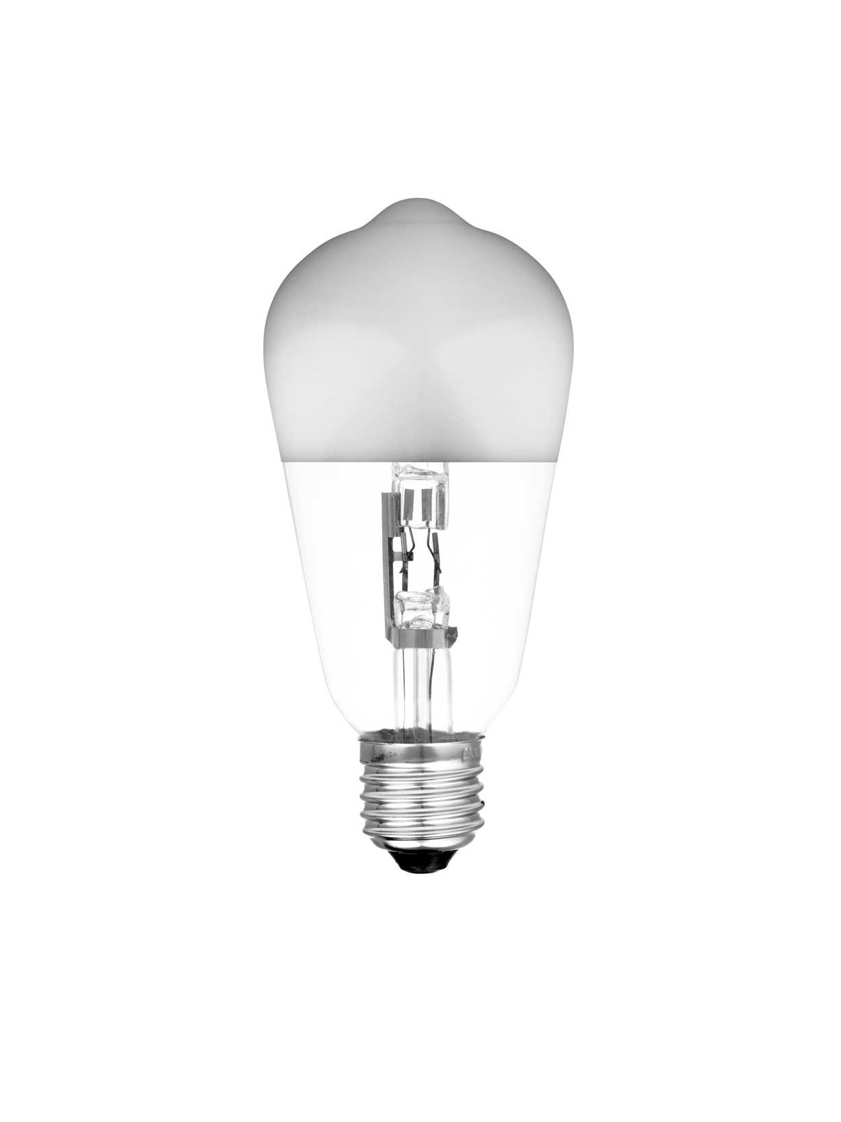 Nordic House Halogen Silver Base Light Bulb