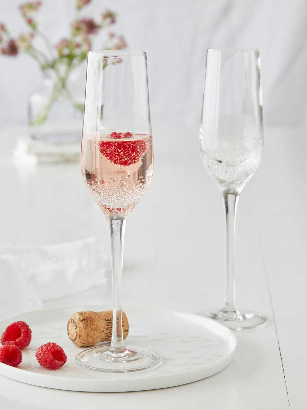 Nordic House Champagne Bubble Glasses