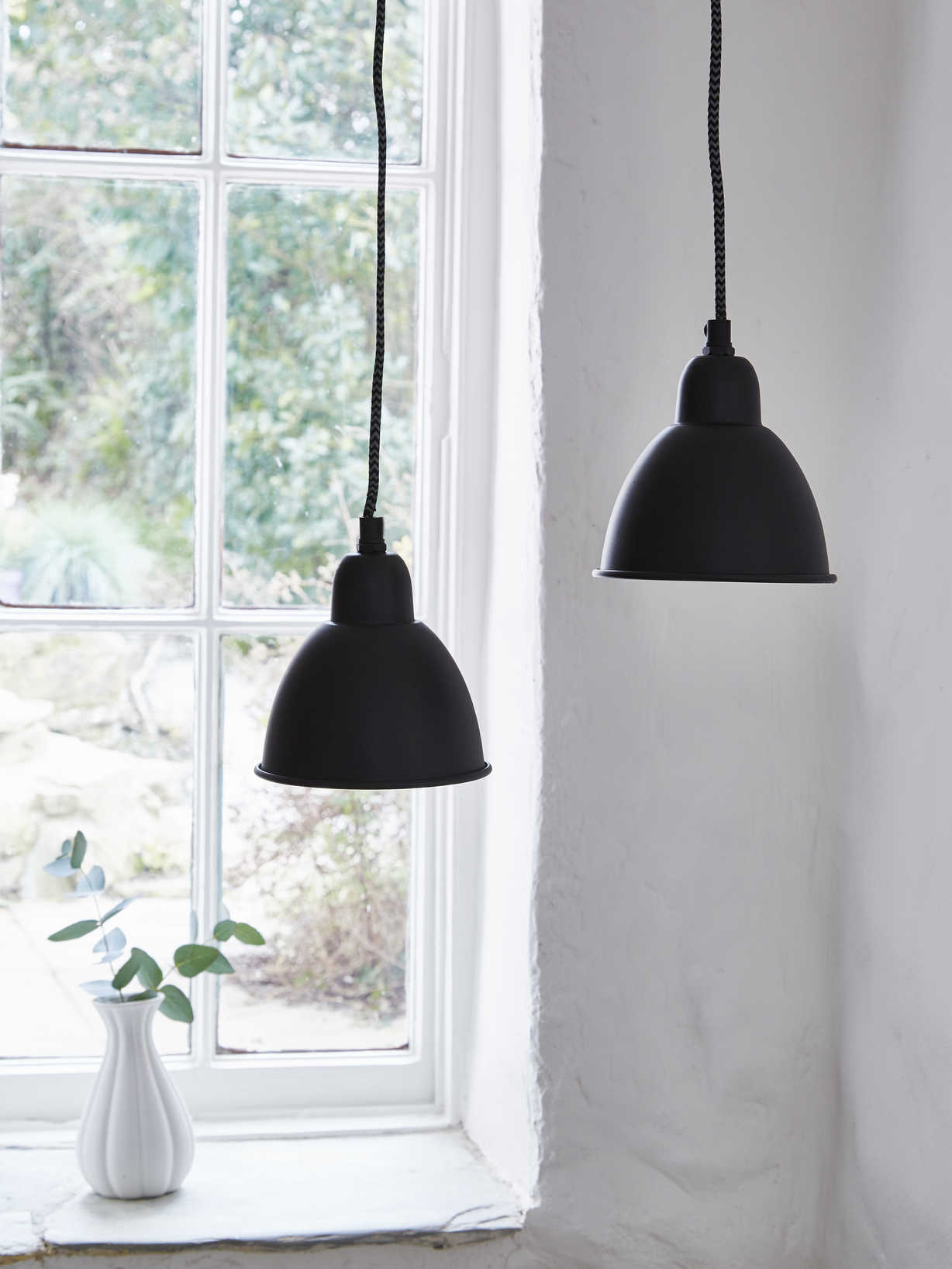 Nordic House Mini Black Pendant