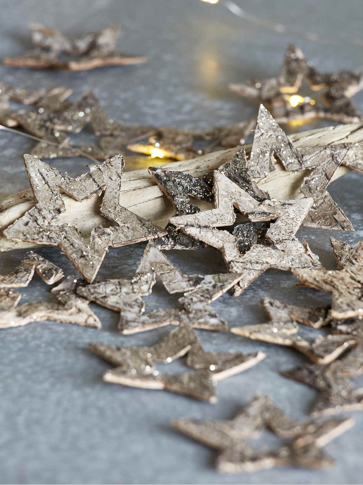 Nordic House Bark Deco Stars