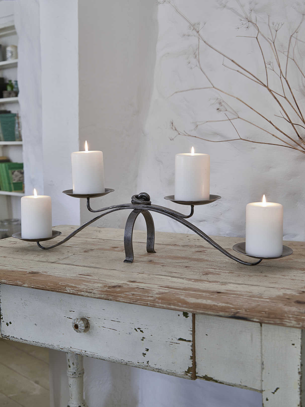 Nordic House Artisan Wrought Iron Centrepiece