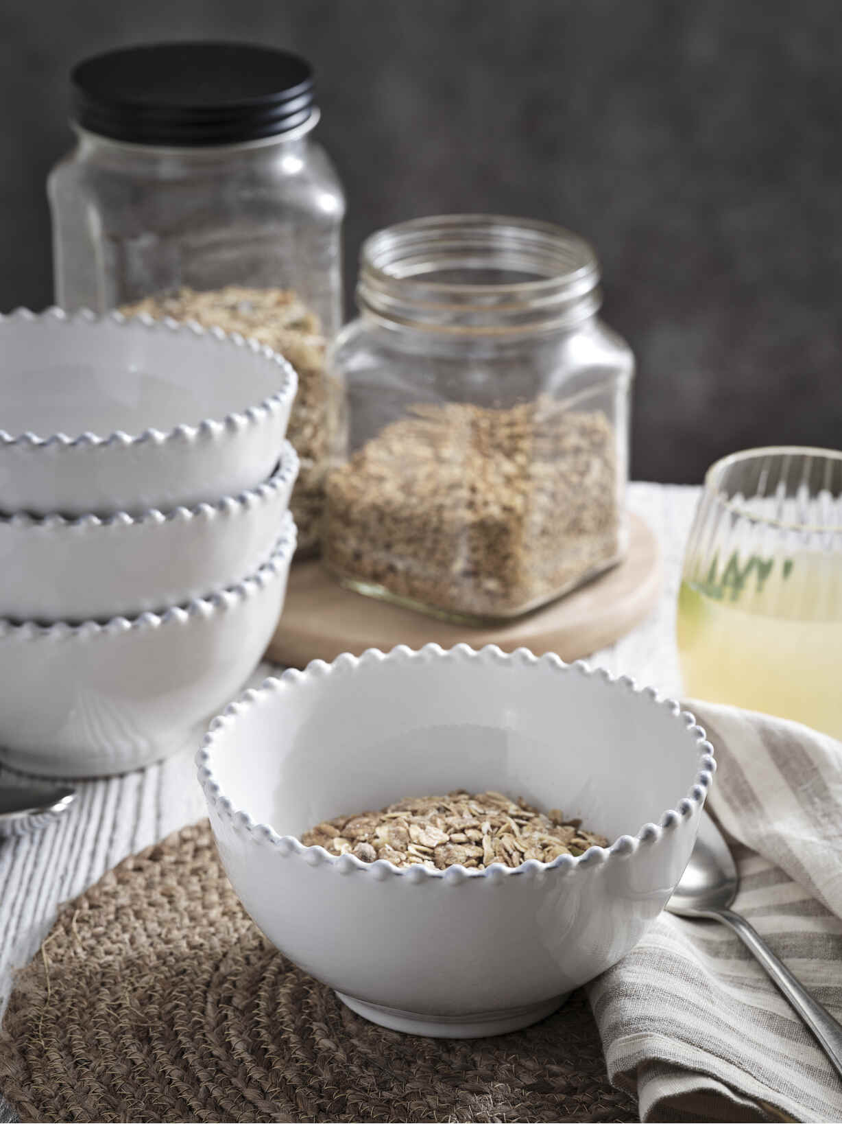Nordic House Parla Cereal Bowl