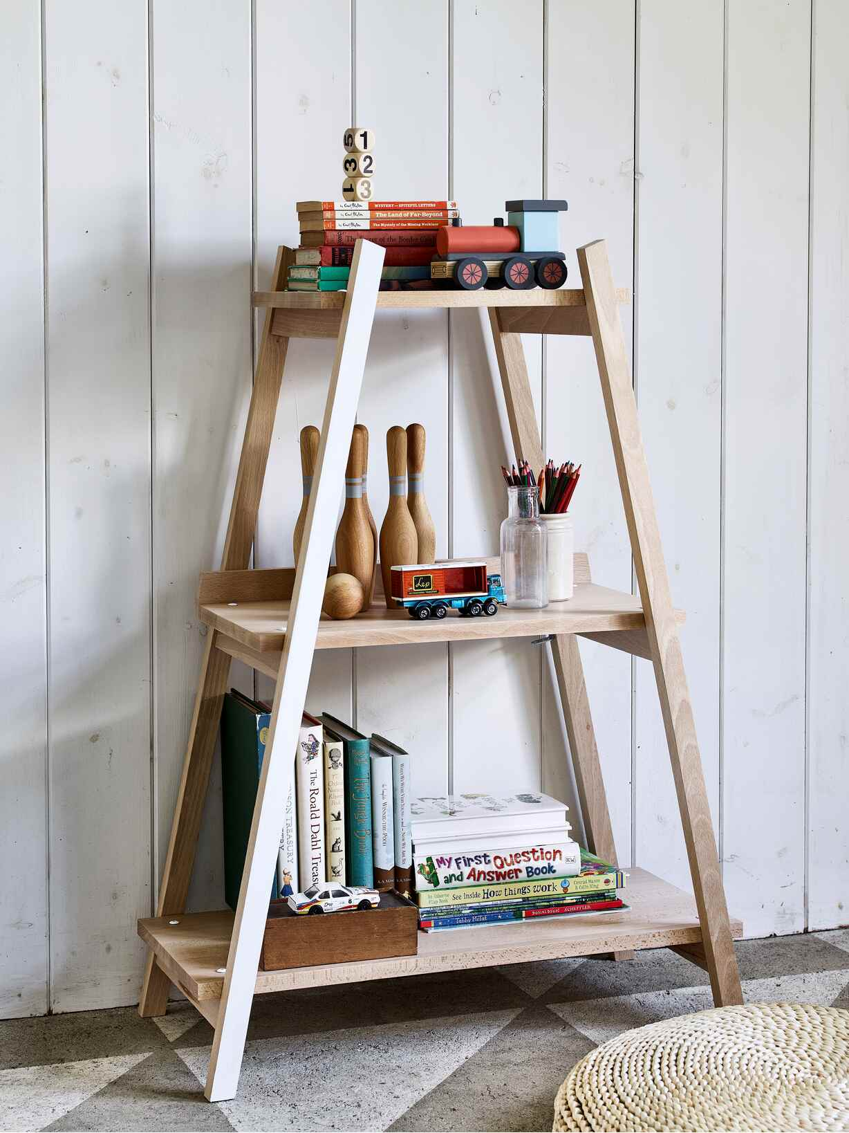 Nordic House Mini Eco Bookcase