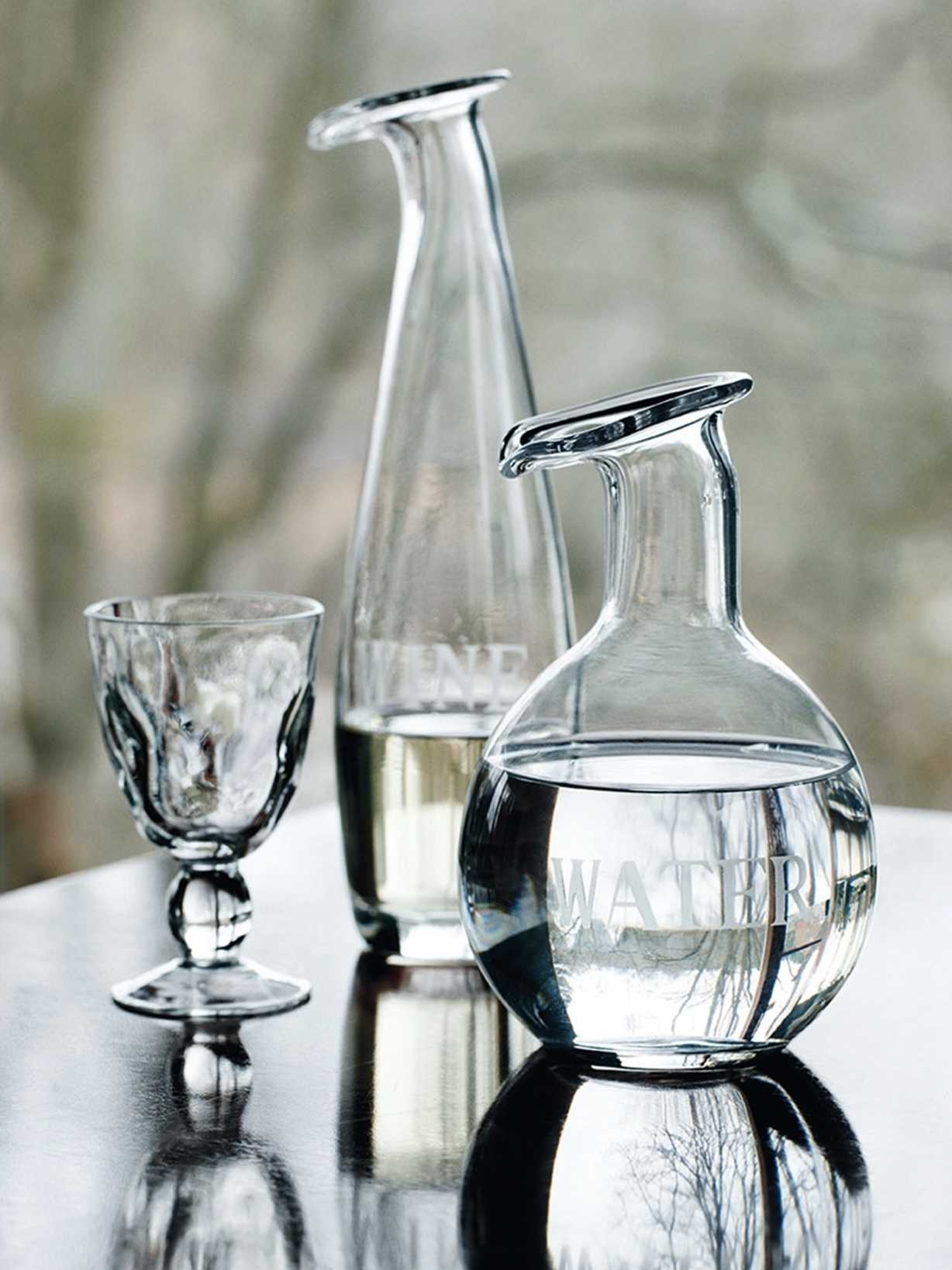 Nordic House Water & Wine Carafes