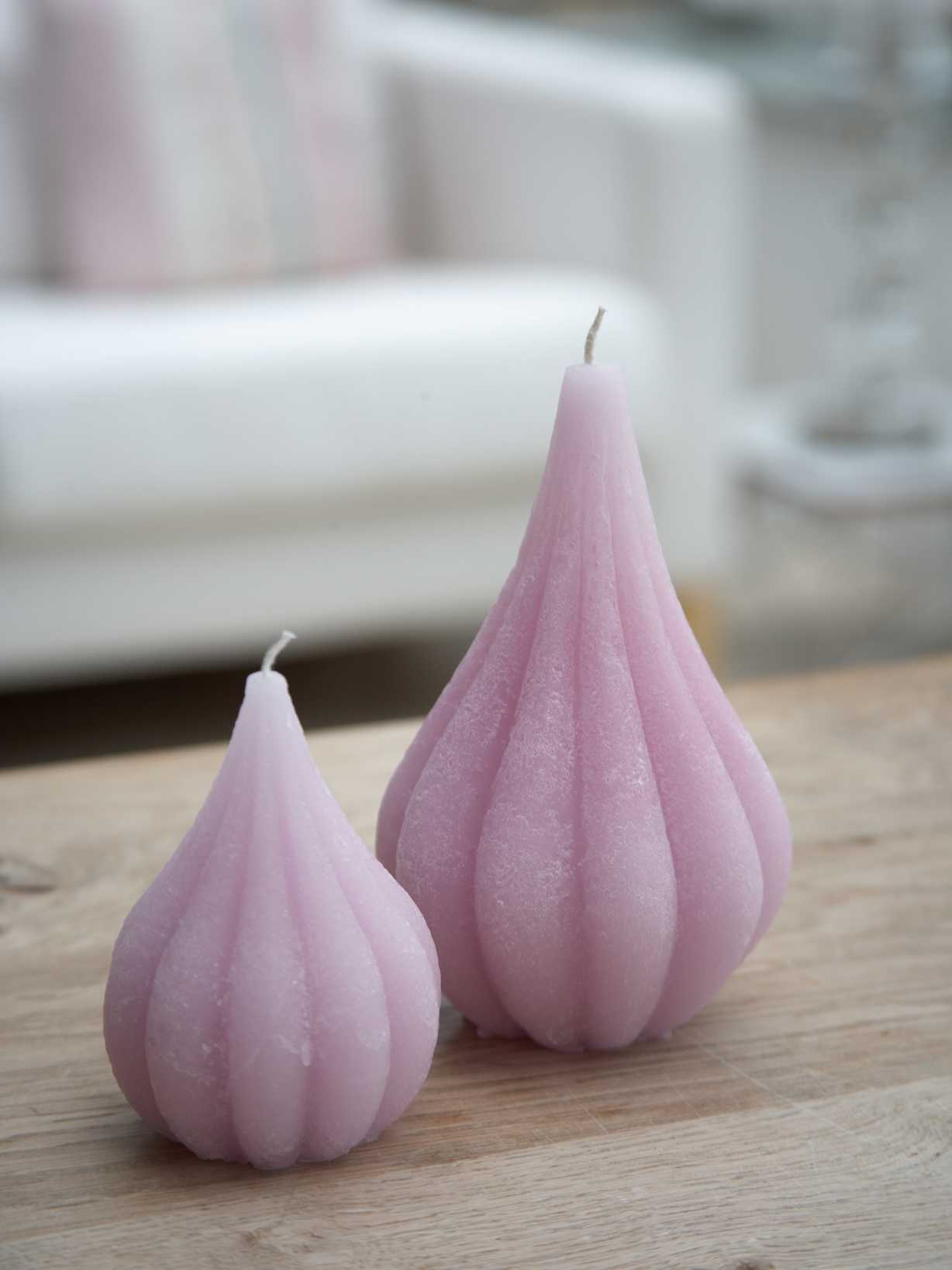 Nordic House Pastel Lilac Onion Candles