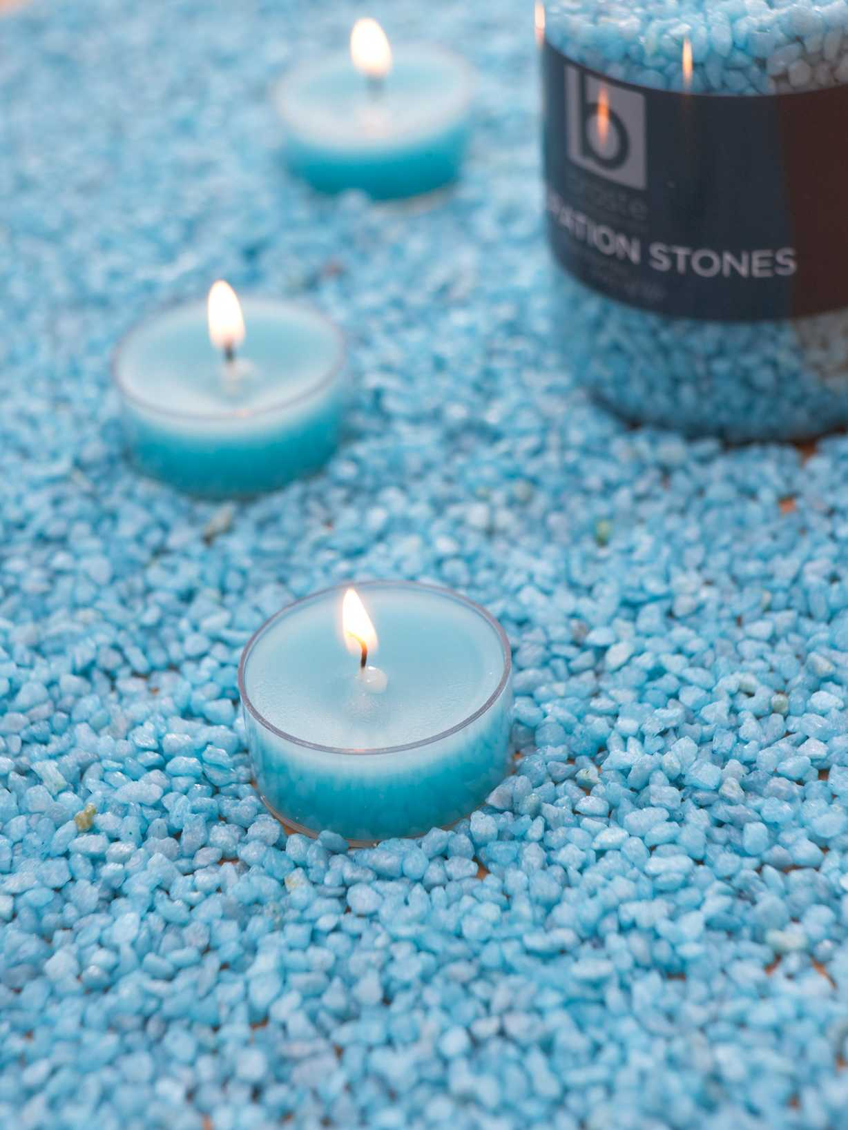 Nordic House Topaz Candle Gravel