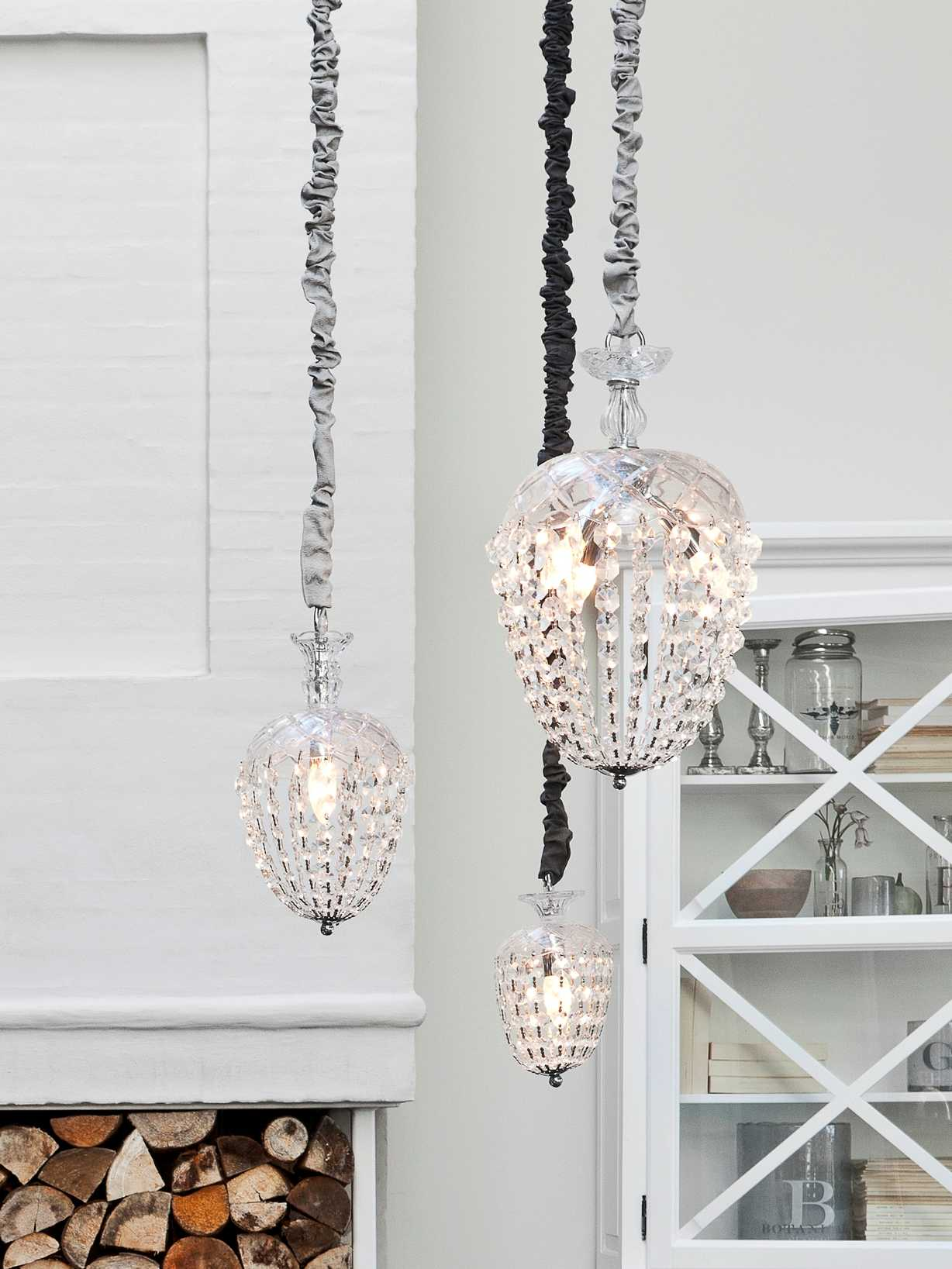 Nordic House Scandinavian Glass Chandeliers