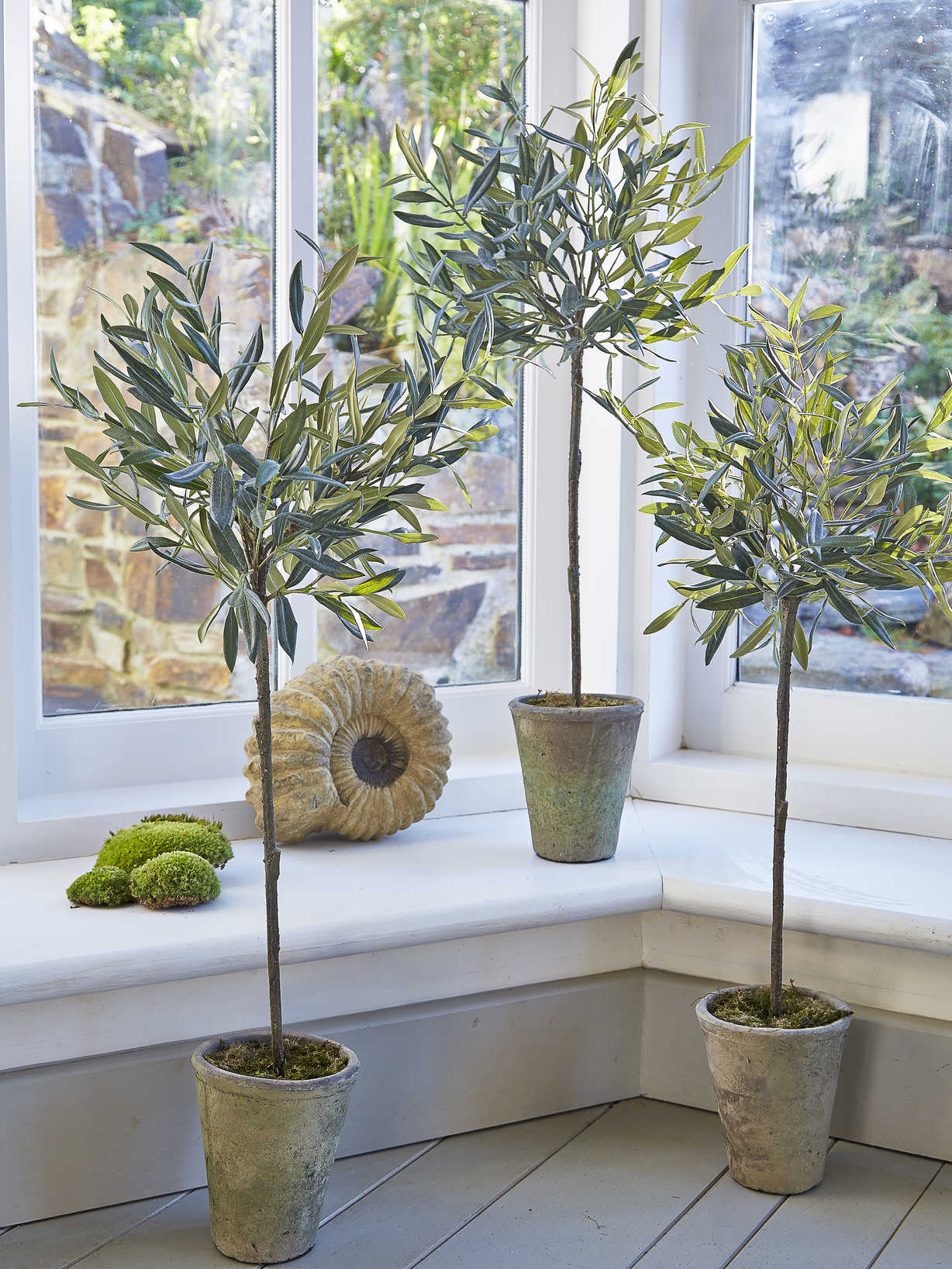 Nordic House Medium Faux Olive Tree