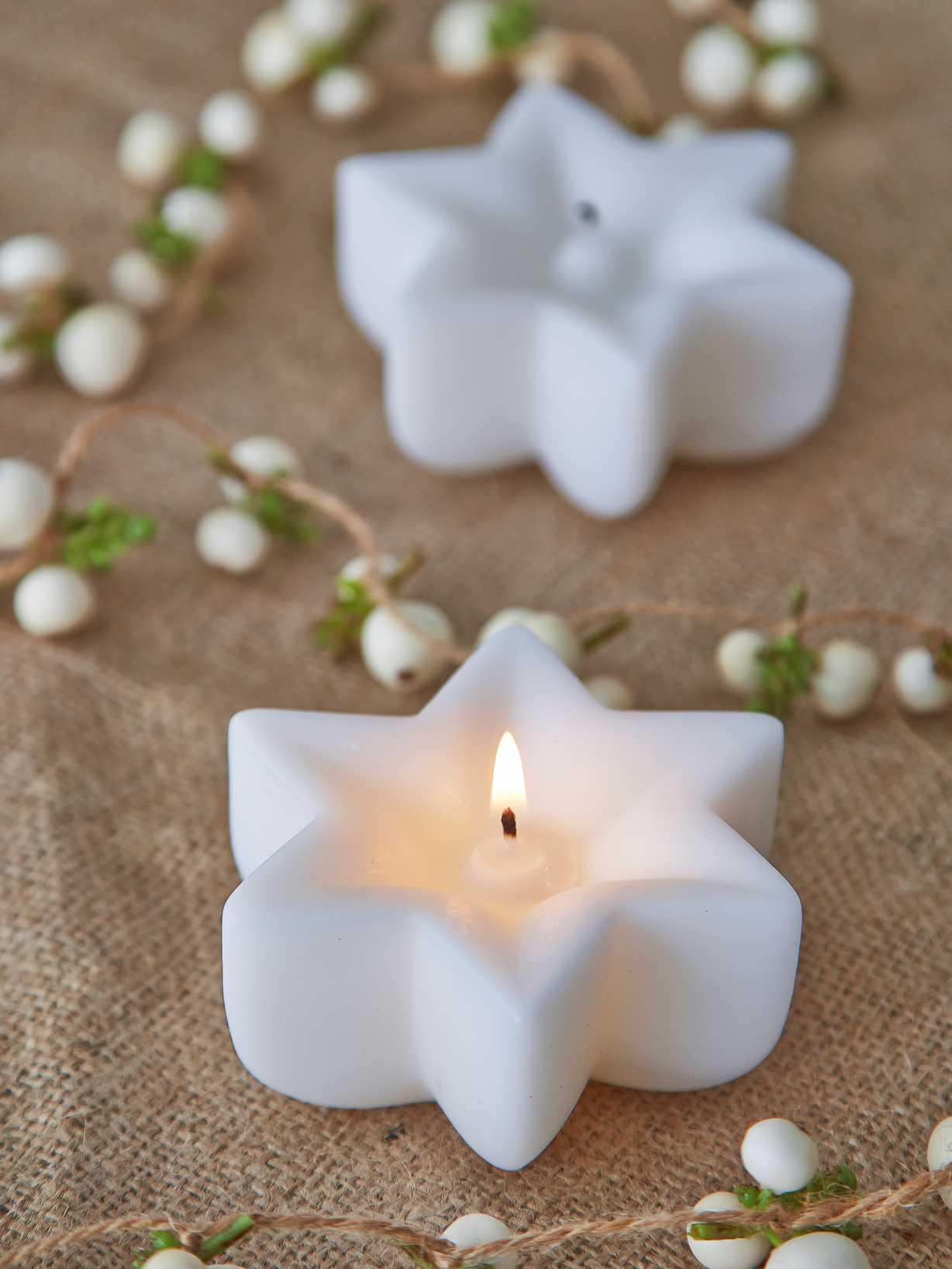Nordic House Nordic Star Candle