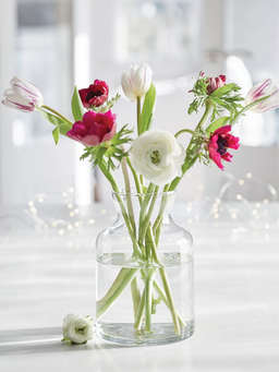 Nordic House Hand Blown Glass Vases