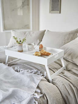 Nordic House White Bed Tray