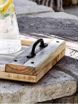 Nordic House Reclaimed Wood Serving Tray