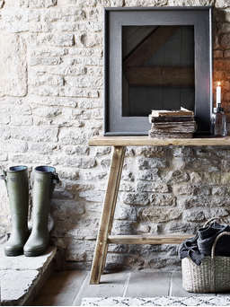 Nordic House Reclaimed Wood Console Table