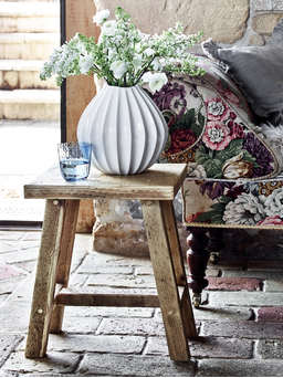 Nordic House Reclaimed Wood Side Table