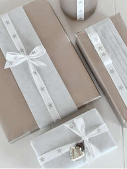 Nordic House Reversible Kraft Paper Gift Wrap