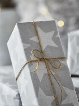 Nordic House Star Print Gift Wrap