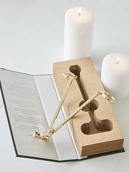 Nordic House Gold Wick Trimmer
