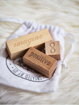 Nordic House Hand-Crafted Wooden Blocks - Imagine