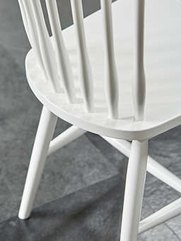 Nordic House Blom Dining Chair - White