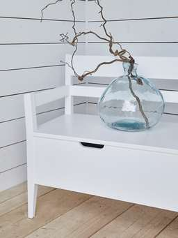 Nordic House Two Seater Storage Bench