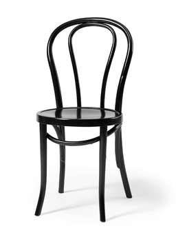 Nordic House Retro Bistro Chair - Black