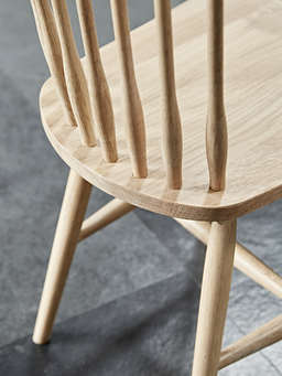 Nordic House Blom Dining Chair - Oak