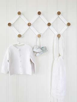 Nordic House Expandable Wall Hook Rack