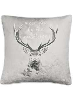 Nordic House Nordic Deer Cushion - Meet You