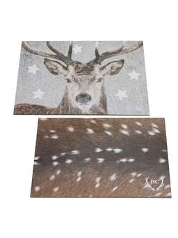 Nordic House Nordic Paper Placemats - Reindeer