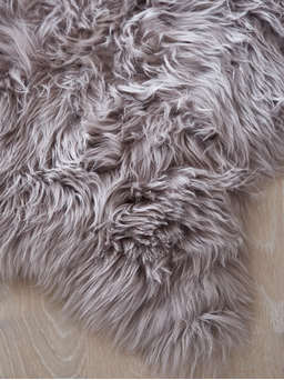 Nordic House Luxurious Sheepskin Rug - Dove