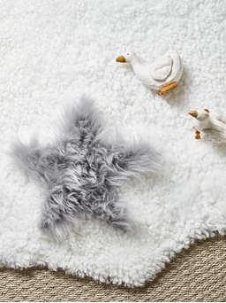 Nordic House Star Sheepskin Collection
