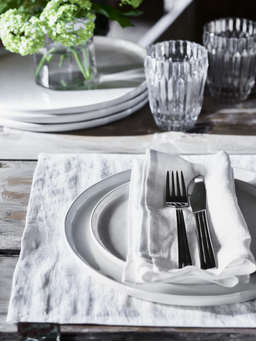 Nordic House White Table Linen