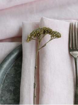 Nordic House Blush Pink Table Linen