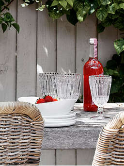 Nordic House Tine Wine Glass Set