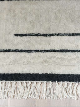 Nordic House Striped Wool Rug