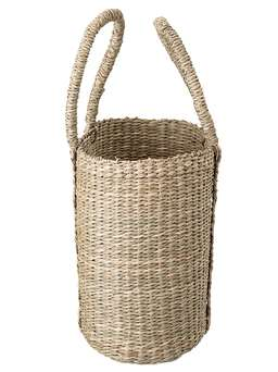 Nordic House Seagrass Shopping Basket