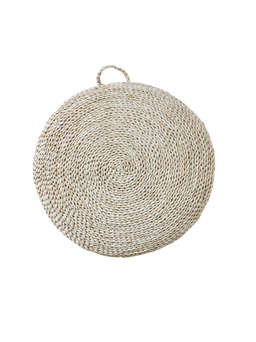 Nordic House Seagrass Floor Cushion