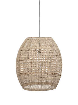 Nordic House Extra Large Rattan Pendant