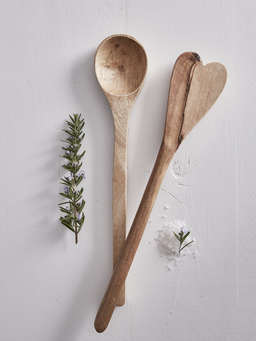 Nordic House Wooden Salad Servers