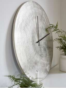 Nordic House Sandblast Effect Wall Clock