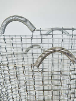 Nordic House Heirloom Hand-Woven Basket - G65L